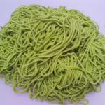 Mie hijau mentah sebagai alternative makanan sehat bagi anak anda